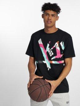 K1X Camiseta Wrap-Around Tag negro