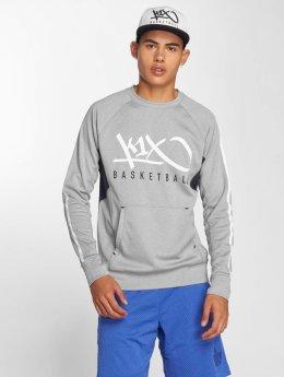 K1X Core Пуловер Panel серый