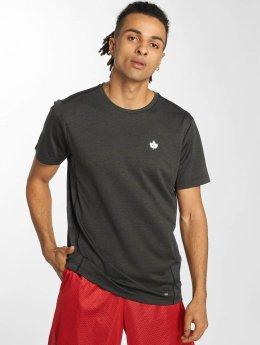 K1X Core T-Shirt Leaf Camo grau