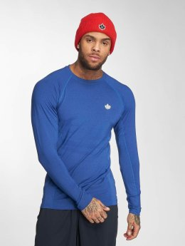 K1X Core T-Shirt manches longues Compression bleu