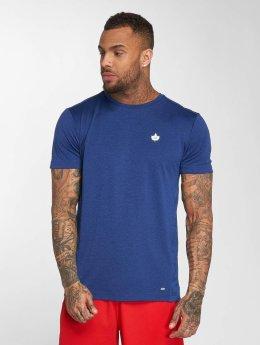 K1X Core T-Shirty Leaf Camo niebieski