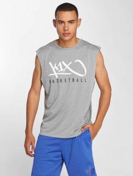 K1X Core Tank Tops Tag Basketball harmaa