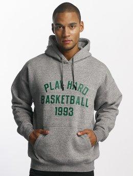 K1X Sweat capuche Play Hard Basketball gris