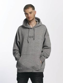 K1X Sweat capuche Play Me gris