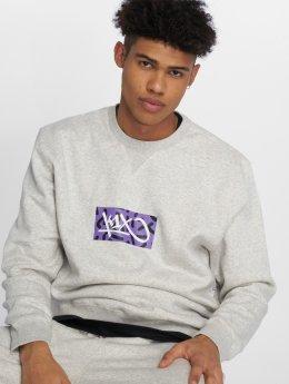 K1X Swetry Box Logo szary