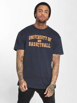 K1X T-Shirt University of Basketball blau