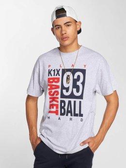 K1X T-Shirt Scrabble grau