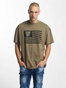 K1X T-Shirt NOH Flag olive