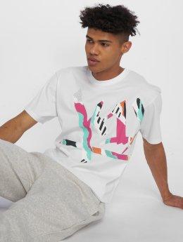 K1X T-Shirty Wrap-Around Tag bialy