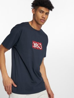 K1X T-skjorter Box Logo blå