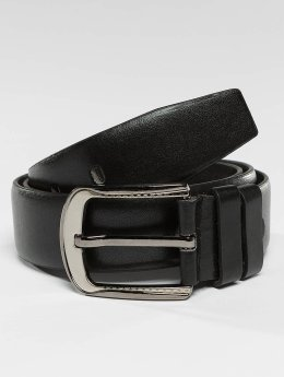 Kaiser Jewelry Gürtel Leather zwart