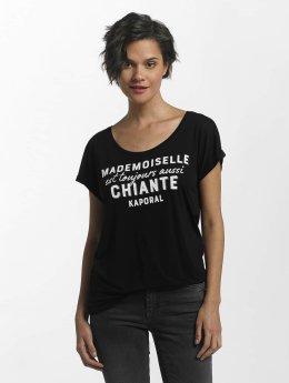 Kaporal Camiseta VIVI Knitted negro