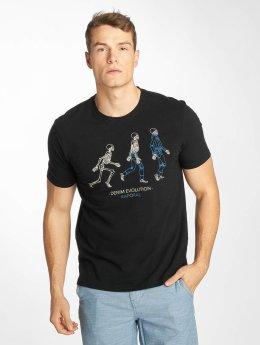 Kaporal Camiseta Knitted negro