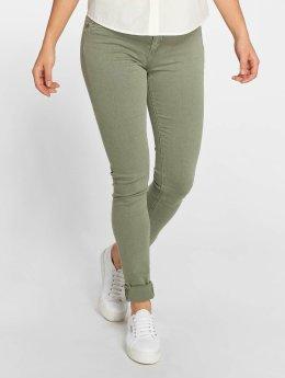 Kaporal / Slim Fit Jeans Olivia i oliven