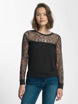 Kaporal T-Shirt manches longues Bling my G noir