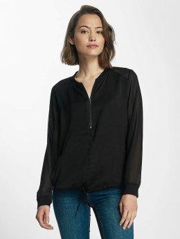 Kaporal T-Shirt manches longues Woven noir