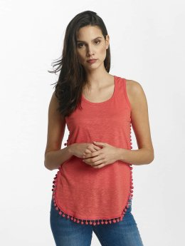Kaporal Tank Tops LANA red