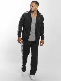 Kappa Anzug Dueduedue schwarz