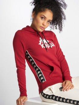 Kappa Bluzy z kapturem Dilara czerwony