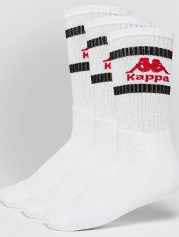 Kappa Calcetines Temmo 3 Pack blanco
