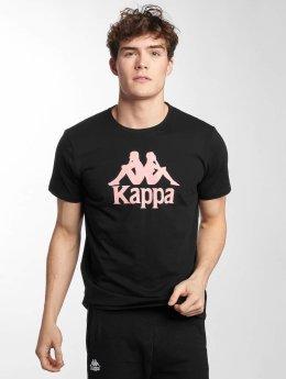 Kappa Camiseta Estessi negro
