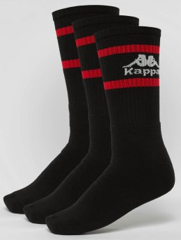Kappa Chaussettes Temmo 3 Pack noir