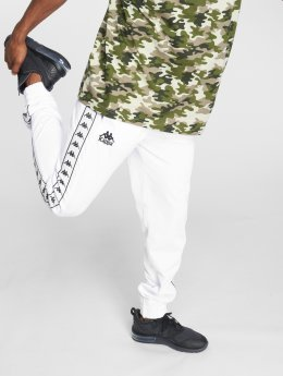 Kappa Pantalón deportivo Taul blanco