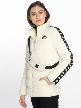 Kappa Puffer Jacket Denise white