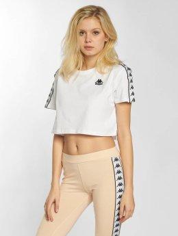 Kappa / t-shirt Apua in wit