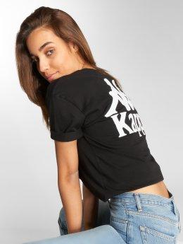 Kappa t-shirt Tiada zwart