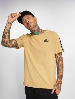 Kappa T-Shirty Daan brazowy