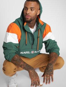 Karl Kani Демисезонная куртка Retro Blocked зеленый