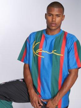 Karl Kani Camiseta College Stripes azul