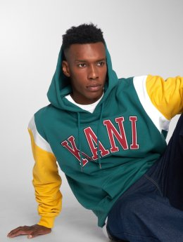 Karl Kani Hoodies College Retro grøn