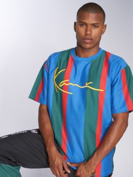 Karl Kani T-Shirt College Stripes blau