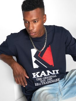 Karl Kani t-shirt Stripes blauw