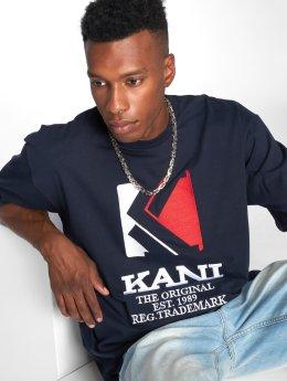 Karl Kani T-skjorter Stripes blå