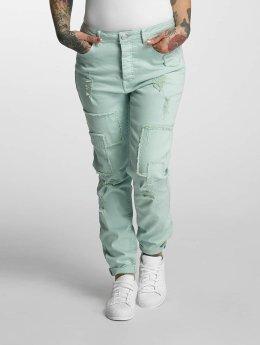 Khujo Boyfriend jeans Isidora groen