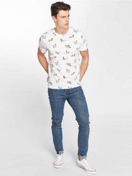 Khujo Camiseta Terico blanco