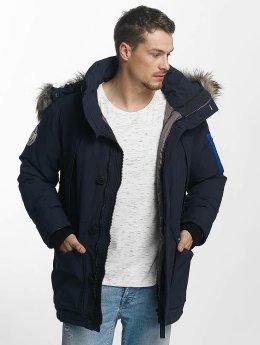 Khujo Manteau hiver Columbus bleu