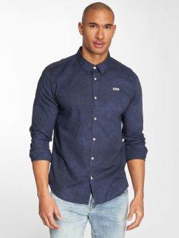 Khujo overhemd Shagg blauw