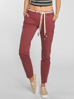 Khujo Pantalon chino Suvi rouge