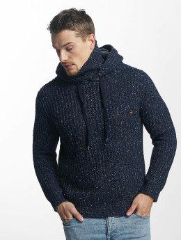 Khujo Pullover Plenty Knit blau
