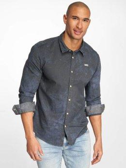 Khujo Skjorte Shagg blå