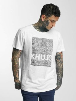 Khujo T-shirt Tario bianco