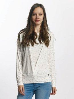 Khujo T-Shirt manches longues Strand blanc