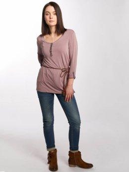 Khujo T-Shirt manches longues Salloa rose