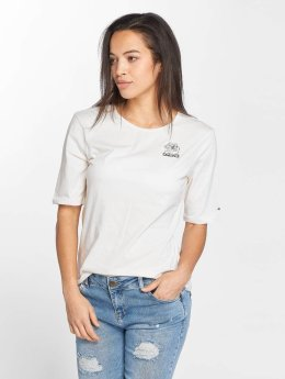 Khujo T-Shirt Nieves weiß