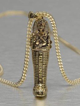 KING ICE Cadena Tut Coffin oro