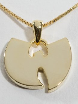 KING ICE Collana WU-TANG CLAN Gold_Plated 925 Sterling_Silver